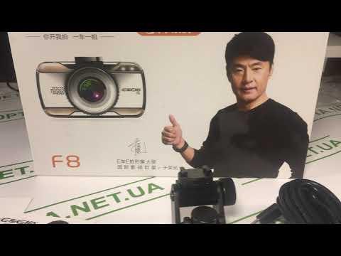 Обзор Видеорегистратор EKEN F8 Full HD 1080p