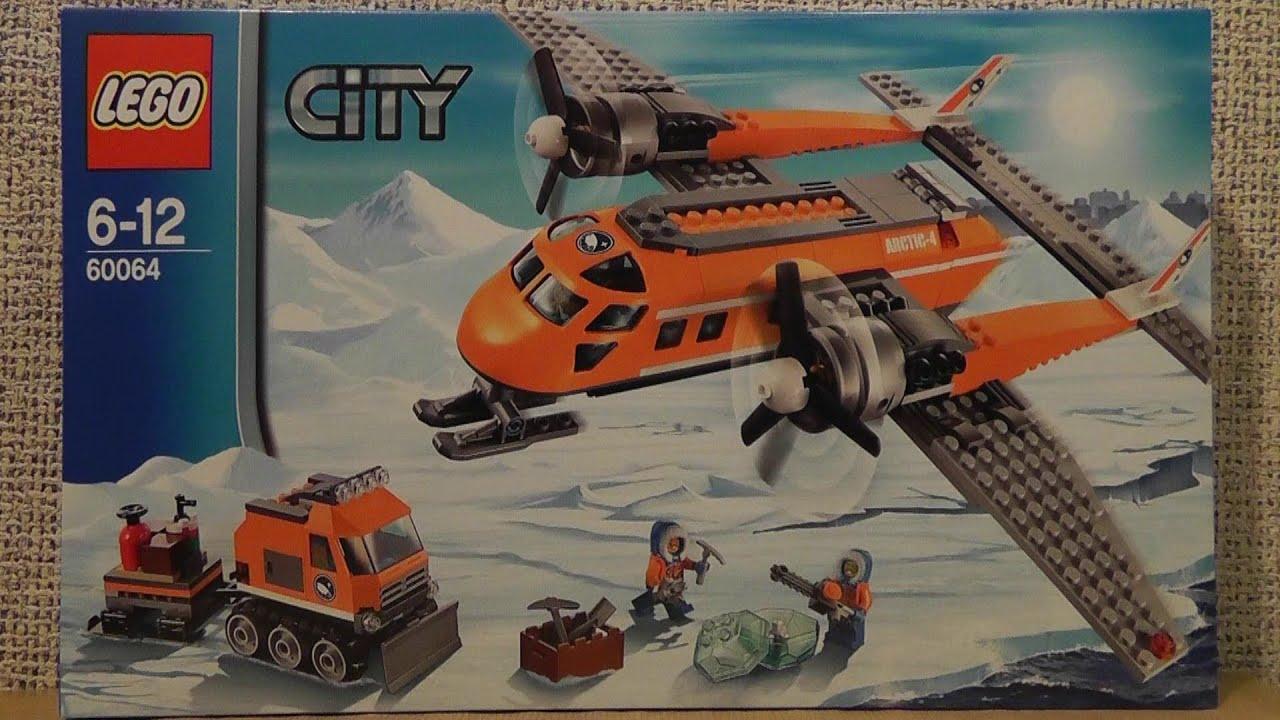 Lego City 60064 Arktyczny Samolot Dostawczy Youtube