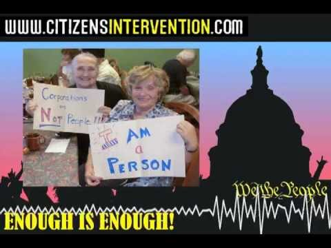 Citizens Intervention: Voices from America 1