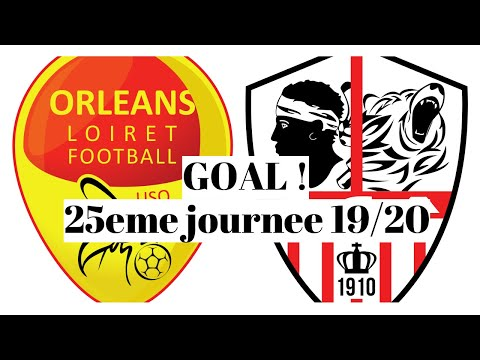 Orleans AC Ajaccio Goals And Highlights