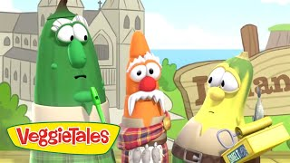 Veggie Tales | Kilts and Stilts | Silly Songs With Larry | Kids Cartoon