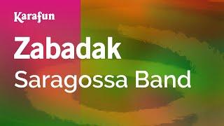 Karaoke Zabadak - Saragossa Band *
