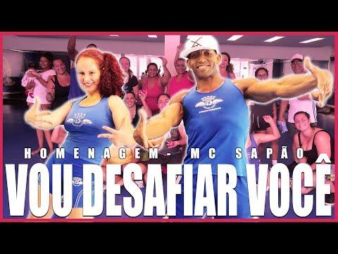 Vou Desafiar Você - MC Sapão  Homenagem Motiva Dance Coreografia