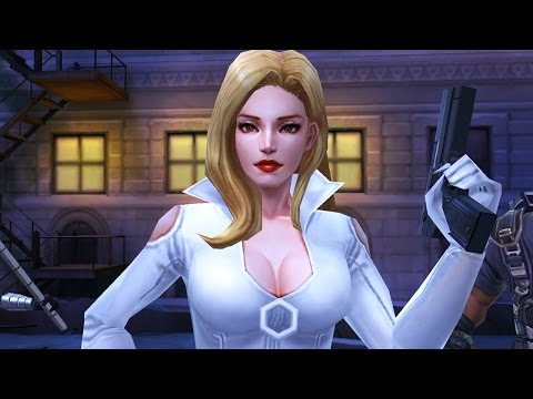 Marvel: Future Fight - SHARON CARTER Biometrics UNLOCKED