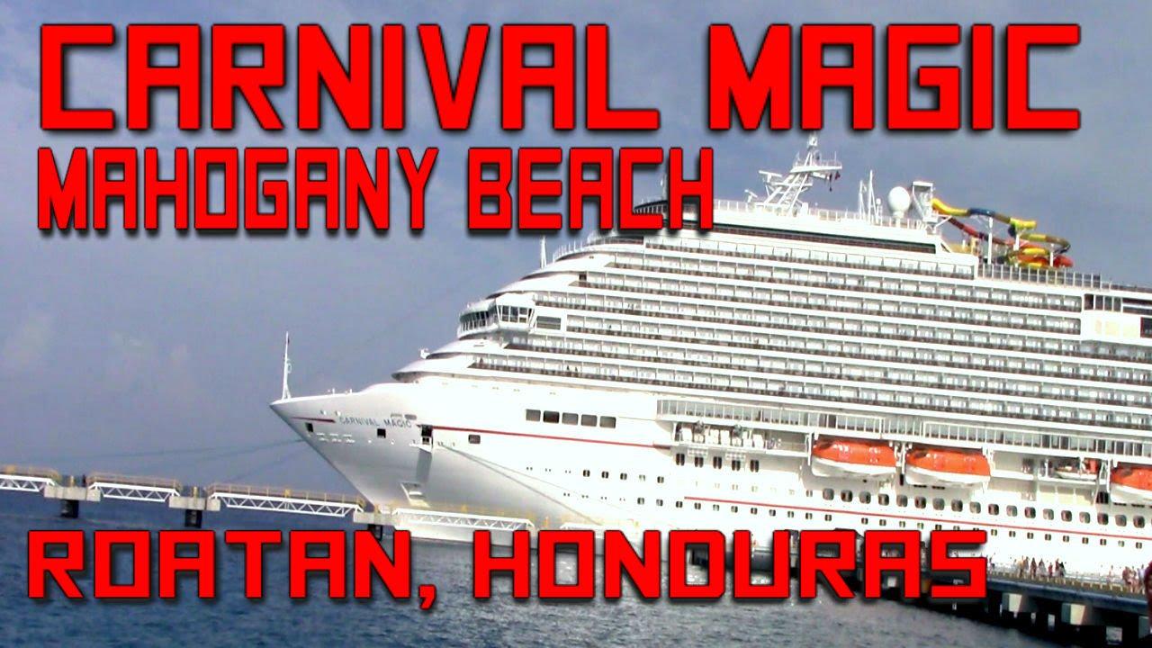 Carnival Magic 2016 7 Day Western Caribbean (Part 4 ... |Roatan Carnival 2016