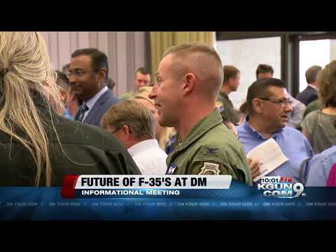 Meeting about the future of F-35's at Davis-Monthan Air Force Base