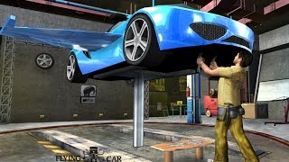 Flying Car Mechanic Simulator Android Gameplay ( By Brilliant Gamez)