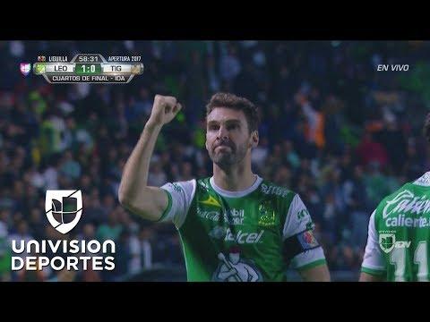 Boselli fusiló a Nahuel y pone a León 1-0 sobre Tigres