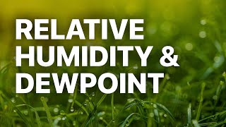 Calculating Relative Humidity and Dewpoint