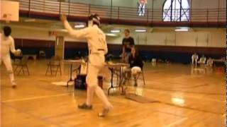 Dan Cantillon Fencing 2003 bout 4.avi