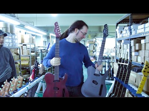The Chapman Guitars Factory Tour - Day One