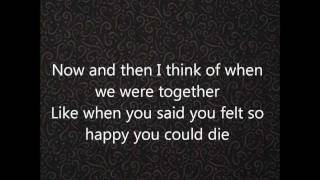 Gotye ft. Kimbra - Somebody that i used to know lyrics HQ HD
