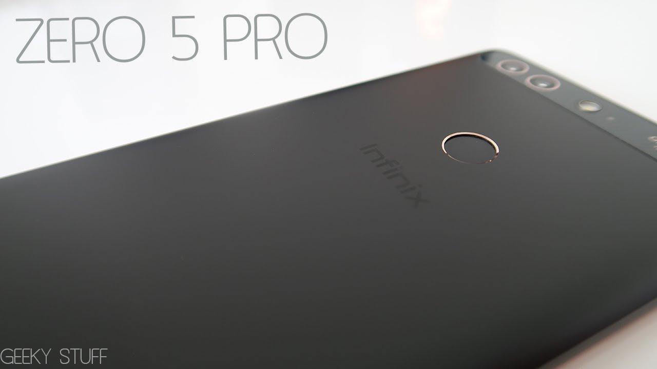 Infinix Zero 5 Pro Unboxing