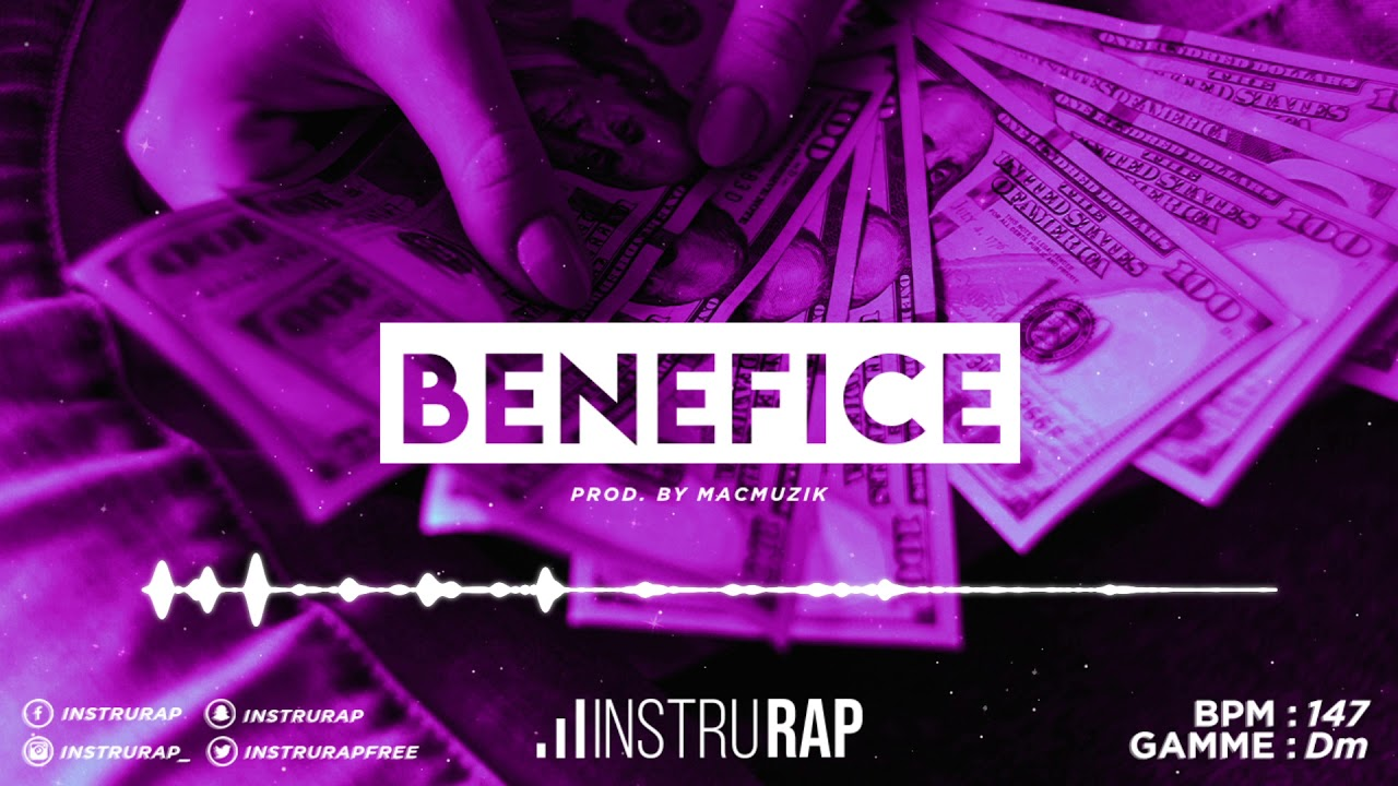 [FREE] Instru Rap Trap 2020 | Instrumental Rap Lourd/Dope - BENEFICE - Prod. By MACMUZIK
