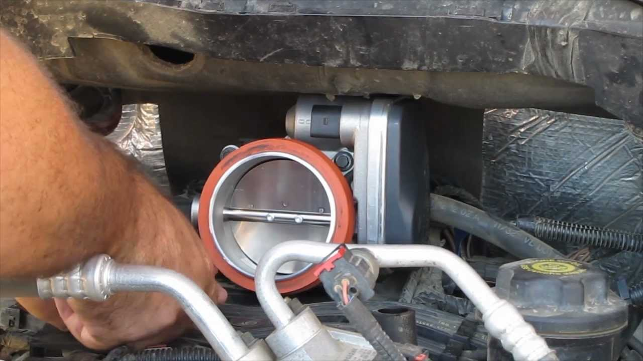 dodge idle air control valve location