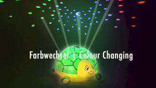 ANSMANN Musik-Sternenlicht Schildkröte | Lullaby Starlight Turtle