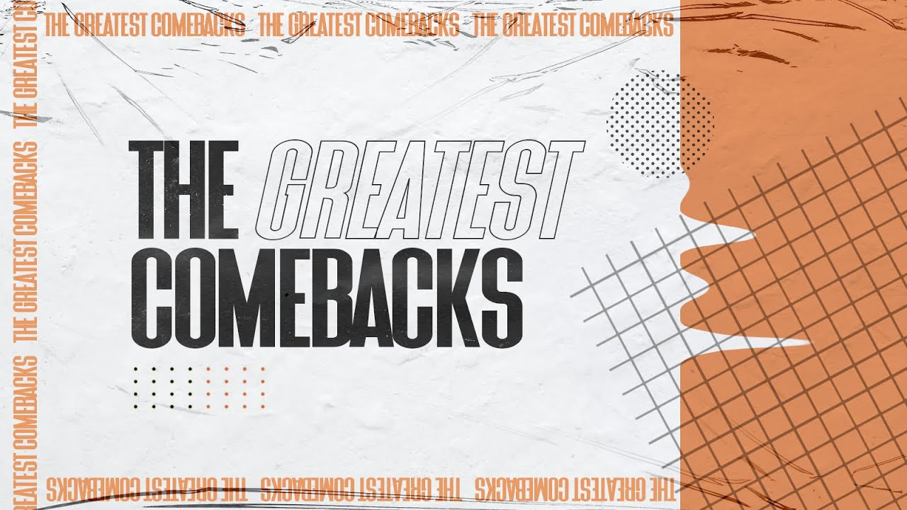 The Greatest Comebacks Series / Week 8 / Ps Rod Gilchrist