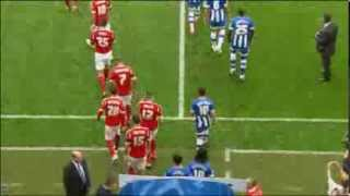 WIGAN ATHLETIC 2 NOTTINGHAM FOREST 1 - HIGHLIGHTS - 31/08/13