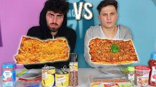 PIZZA vs PIZZA CHALLENGE !!!