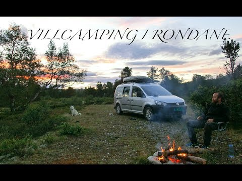 Wildcamping in Rondane National Park