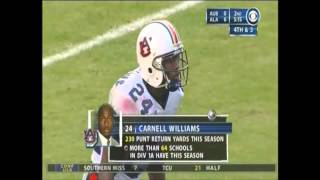 2004 #2 Auburn vs. Alabama Highlights