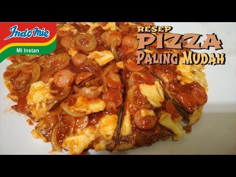 Resep Cara Membuat Pizza Paling Mudah Modal Indomie