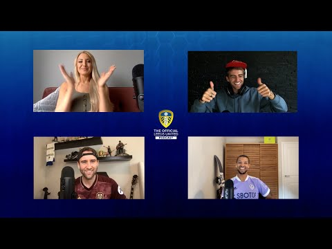 ENGLAND's Patrick Bamford (with his cap) is back!  | The Official Leeds United Podcast