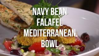 Navy Bean Falafel Mediterranean Bowl