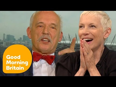 Annie Lennox and Helen Pankhurst React to 'The Most Sexist Man in Politics'   Good Morning Britain