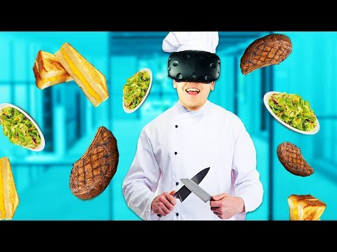 Virtual Reality Chef! - ChefU Gameplay - VR HTC Vive
