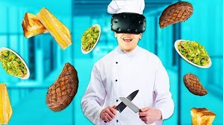 Virtual Reality Chef! - ChefU Gameplay - VR HTC Vive
