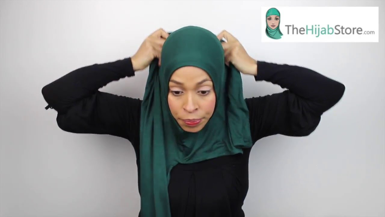 How to jersey wear hijab