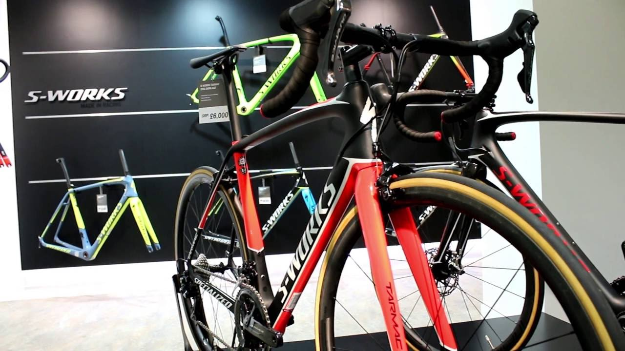 93a9d351f6e Specialized S-Works Tarmac Road Bike 2017 - YouTube