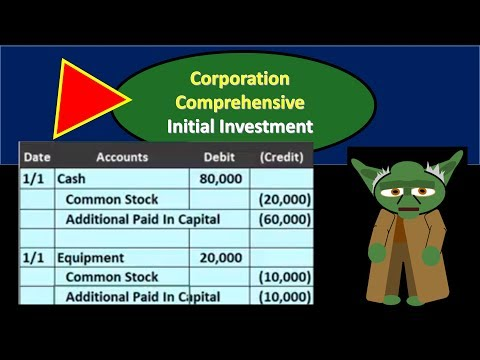 Corporation Comp Prob - Owner Investment Into The Company