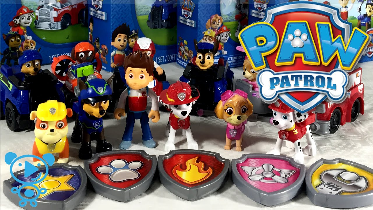 Paw Patrol Toy For Everyone : Paw patrol toys unboxing team action pup sets