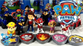 Paw Patrol Toys Unboxing - Paw Patrol Team Action Pup Sets & Paw Patrol Vehicles Racers Team Packs
