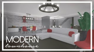 Roblox: Welcome to Bloxburg   Modern Townhouse (134k)