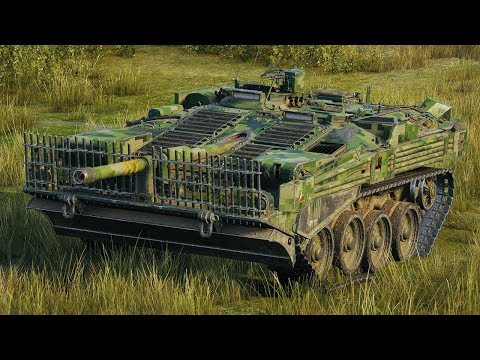 World of Tanks Strv 103B - 8 Kills 11,3K Damage
