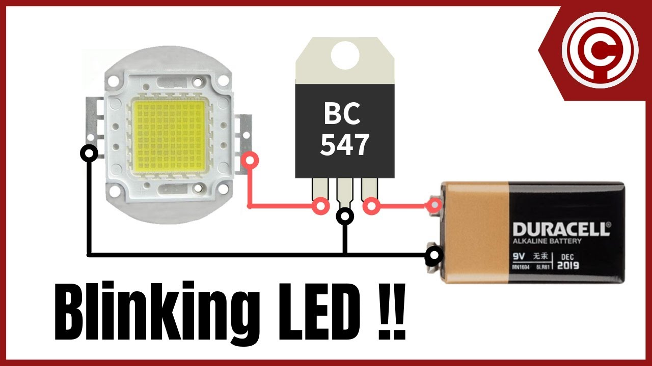 diy led blinker [ 1280 x 720 Pixel ]