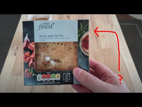 Tesco Finest Steak And Ale Pie - YouTube
