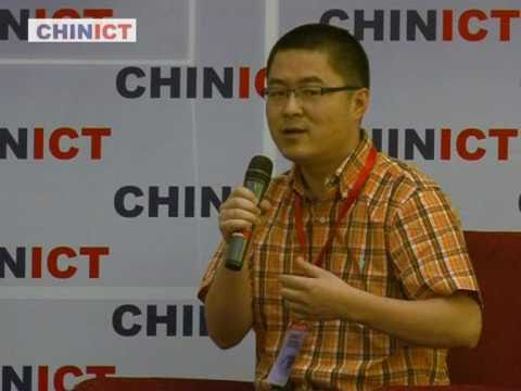 3G.cn GM speaks at CHINICT.