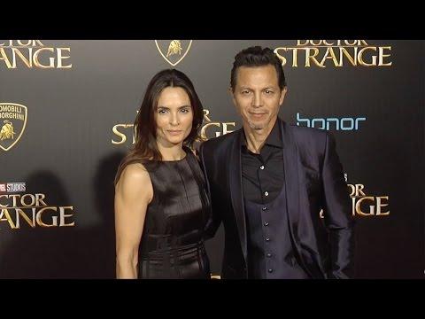"""Benjamin Bratt & Talisa Soto """"Doctor Strange"""" World Premiere Red Carpet"""