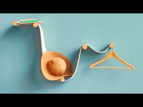 50 Необычных Идей Для Вешалки Своими Руками