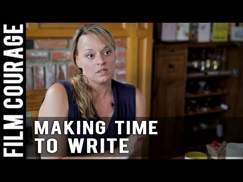 Balancing Life As A Screenwriter While Working A Day Job by Christine Conradt