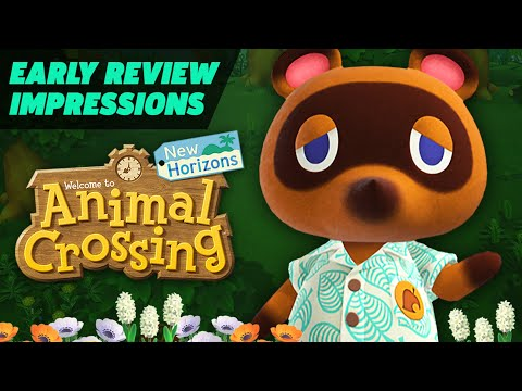 Animal Crossing: New Horizons Early Review Impressions