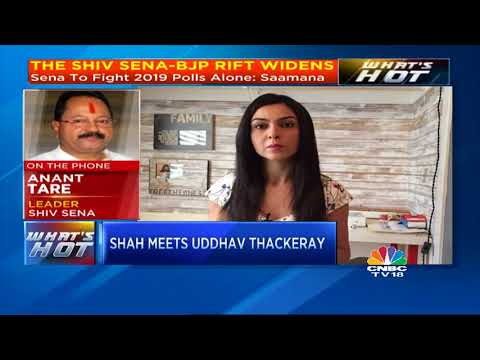 BJP President Amit Shah Meets Shiv Sena Chief Uddhav Thackeray