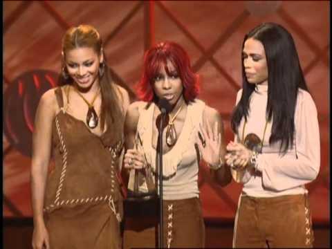 """Destiny's Child Wins Favorite Pop/Rock Album For """"Survivor"""" - AMA 2002"""
