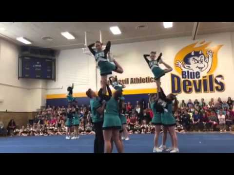 JD Bracco Cheer Team 1 April 2016