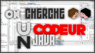 On cherche un codeur java !