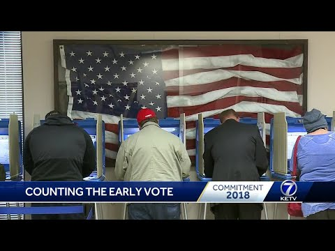 Douglas County Election Commission begins counting early ballots
